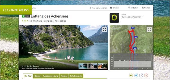 Exklusiver Preview: Die neuen Detailseiten auf outdooractive.com