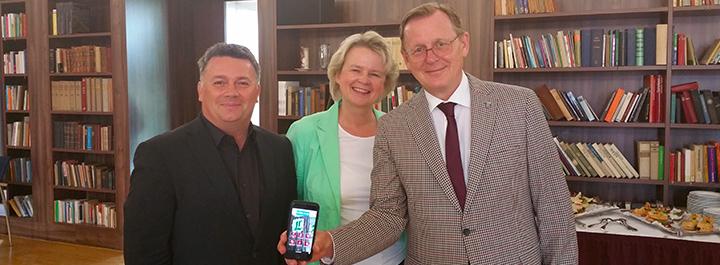 """Digitalisierung im Tourismus: """"Luther to go"""" als digitales Lutherlexikon"""
