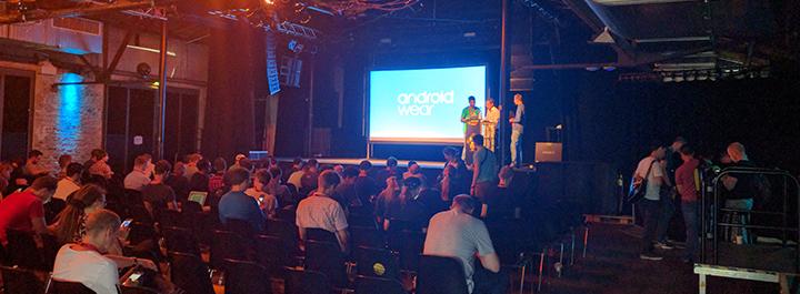 Das Outdooractive Android-Entwicklerteam auf der Droidcon