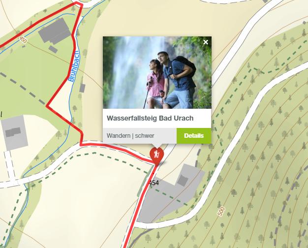 Bad Urach Wasserfallsteig