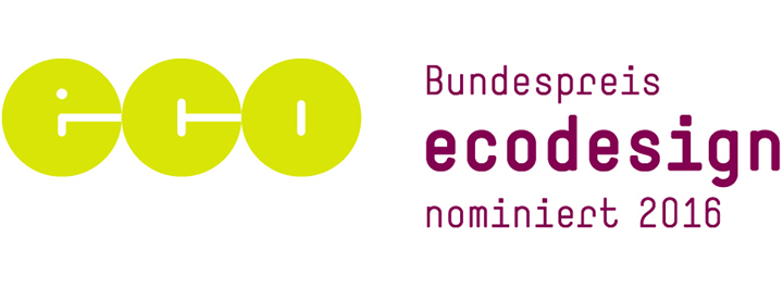 Bundespreis Ecodesign: Outdooractive nominiert 2016