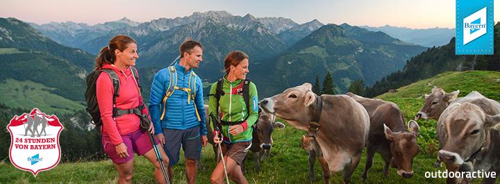 24 Stunden von Bayern in Bad Hindelang: Outdooractive ist Premium-Partner