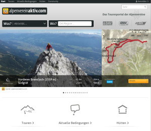 Startseite alpenvereincom
