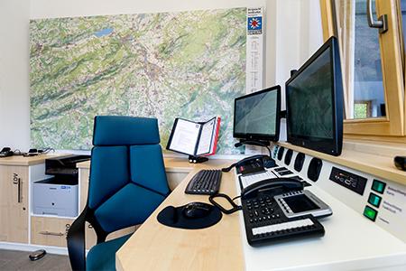 Übersichtstafel Bergwacht Bayern