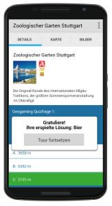 Gamification für Tourismus-Apps von Outdooractive