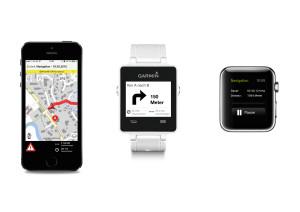 Outdooractive Technologie für Smartwatches von Garmin und Apple